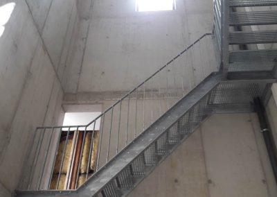 Glockentturm - Innetreppe